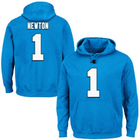 Cam Newton Carolina Panthers Majestic Eligible Receiver II Hoodie – Panther Blue