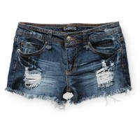 Empyre Asha Destructed Denim Shorts