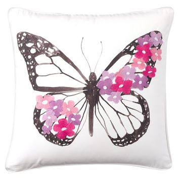 Embroidered Whimsy Pillow Covers