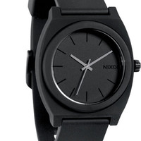 Nixon Black The Time Teller Watch, 47 3/4Mm
