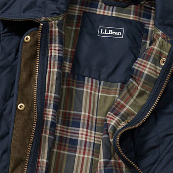 Quilted Riding Jacket: Casual Jackets | Free Shipping at L.L.Bean
