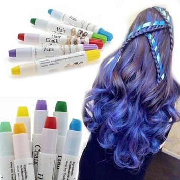 ICIK272 1 Pcs Beauty Temporary Super Comfortable Dye Colored Hair Pastel Hair Color Without Alcohol Crayon For The Hair