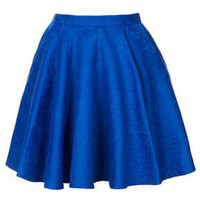 Jacquard Full Swing Skirt - Skirts  - Clothing