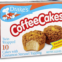 Drake's Coffee Cakes - Pack of 10