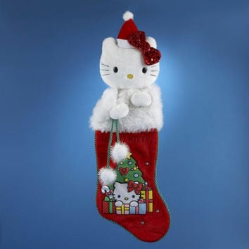 "4 Christmas Stockings - 21 ""  - Hello Kitty"