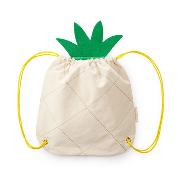 Pineapple Canvas Backpack | pineapple bag