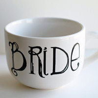 Bride Custom Coffee Cappuccino Mug