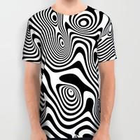 Trippy Background All Over Print Shirt by Danny Ivan | Society6