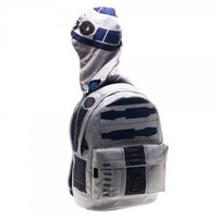 Star Wars Suit Up R2D2 White Backpack with Hood