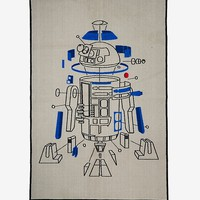 Star Wars: The Last Jedi R2-D2 Deconstructed Rug