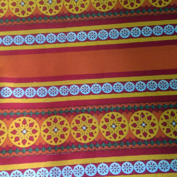 Indian Rajasthani print for women clothing, non stiching Cotton Fabric, Printed Cotton, Hand Block Print Fabric, Cotton Fabric