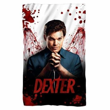 Dexter/Blood Never Lies Fleece Blanket