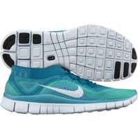 Nike Women's Free FlyKnit+ Running Shoe - Turquoise/White | DICK'S Sporting Goods