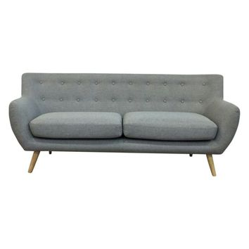 Ebba 3-Seater Sofa - Light Grey