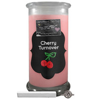 Cherry Turnover Chalkboard Candle