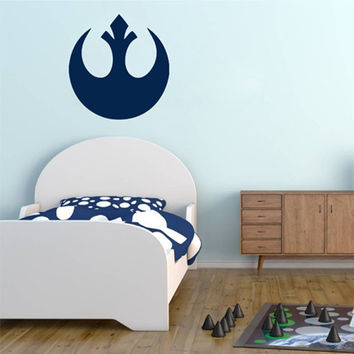 kik2204 Wall Decal Sticker STAR WARS Rebel Alliance Living children's room