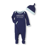 handsome coverall & hat set | US Store