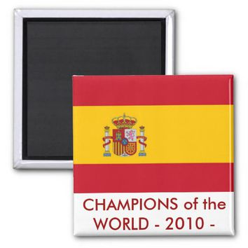 Magnet with Flag of Spain
