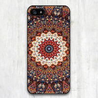 Turkish Floral Lace Mandala  Phone Case For iPhone 6  and 6 Plus Boho Chic Hippie