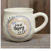 Natural Life Mug - Cup Of Happy