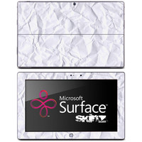 Wrinkled Paper Skin for the Microsoft Surface
