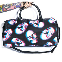 Iron Fist Skull Of Doom Duffle Bag Black One