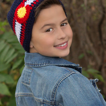 CROCHET PATTERN Colorado Hat INSTANT Download / Crochet Colorado hat Pattern for pictures / Pattern for kids / Hat Crochet Pattern for kids