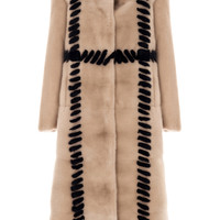 Top Stitch Fur Coat | Moda Operandi