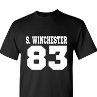 Sam Winchester DOB T-Shirt | Supernatural T-Shirt | Date of Birth