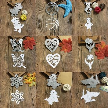 Animal modeling Metal Cutting Dies Stencils For DIY Scrapbooking Photo Album Decorative Embossing DIY Paper Cards Craft New 2017
