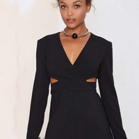 Finders Keepers Moonlight Cutout Romper
