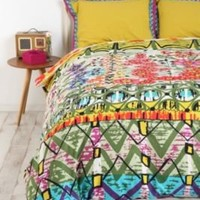 Garden Stripe Duvet Cover