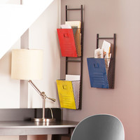 Minimalist Wall File Holders