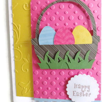 Easter Egg Card Easter Cards Easter Basket card