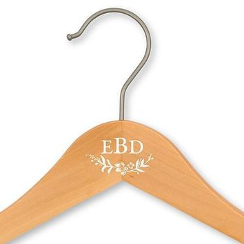 Personalized Bride And Bridesmaids Hangers - Modern Fairy Tale Print