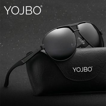 YOJBO Aviator Mens Sunglasses 2018 Polarized Gafas De Sol Mujer Points for Women Sun Polar Driver Glasses Brand Designer Eyewear