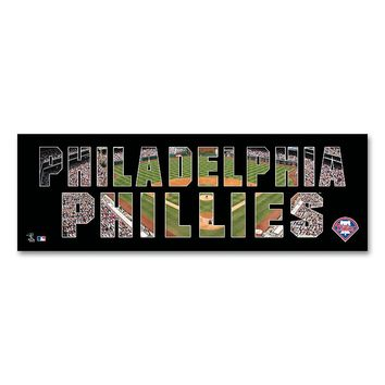 Philadelphia Phillies Stadium Canvas Wall Art