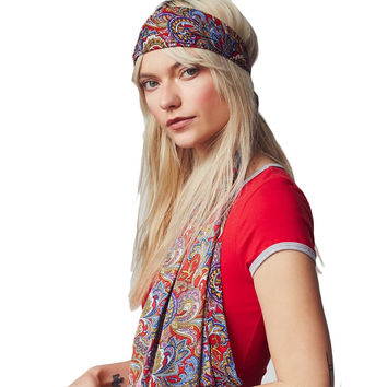 Free People Dolce Vita Head Scarf