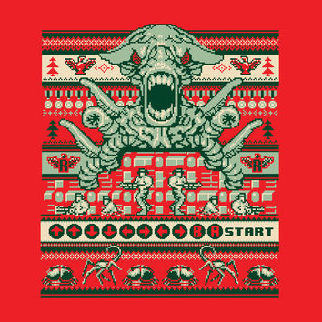 Contra Sweater Art Print by Blueswade