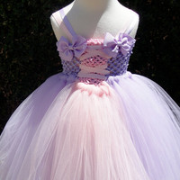 Tangled Rapunzel tutu dress costume perfect for birthday parties,halloween or dress up fits sizes NB-5T