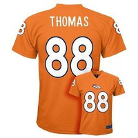 (2017-2018) Denver Broncos DeMARYIUS THOMAS nfl Jersey YOUTH KIDS BOYS (s-small)