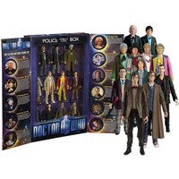 Doctor Who: Elevent Doctors Action Figure Collector's Set