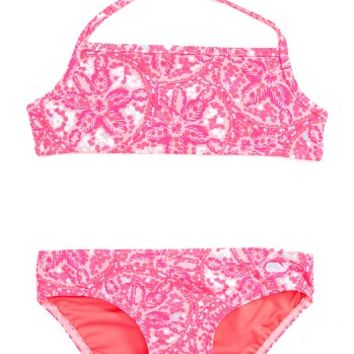 Vineyard Vines Sand Dollar Two-Piece Swimsuit (Toddler Girls) | Nordstrom