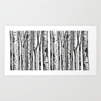 Forest Art Print by Explore1988