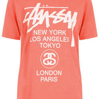 World Tour Tee By Stussy