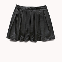 Rock Star Faux Leather Skirt (Kids)