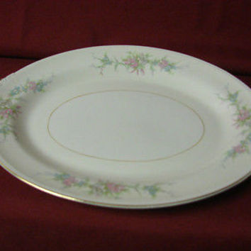 Homer Laughlin, China Dinnerware Eggshell Pattern N1578  Serving Platter