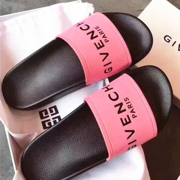 Pink GIVENCHY Slippers Sandals