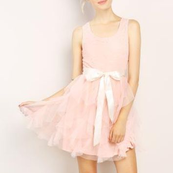 Tulle Mini Dress