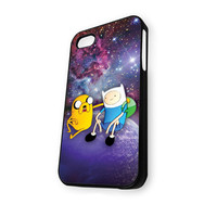 Jake and Finn Nebula Adventure Time iPhone 5C Case
